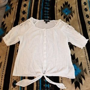 BCX Off white Blouse